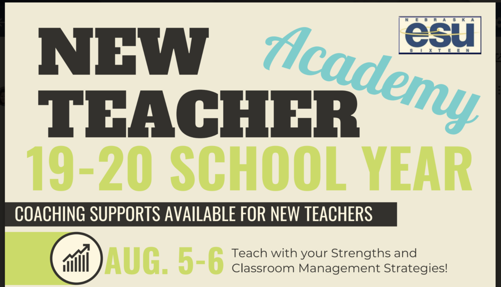 New Teacher flyer