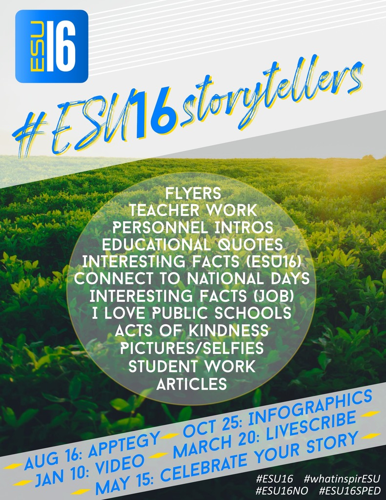 ESU Storyteller Flyer