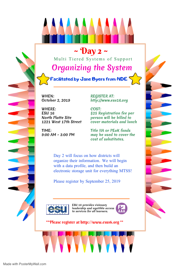 MTSS Day Two Flyer