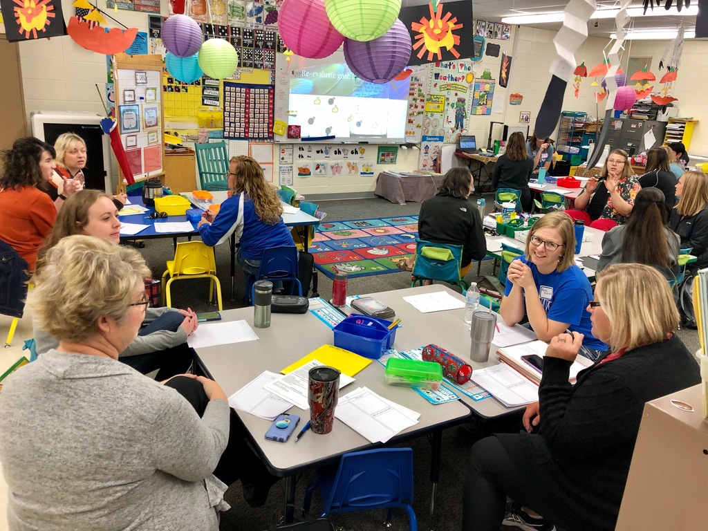 Kindergarten PLC group