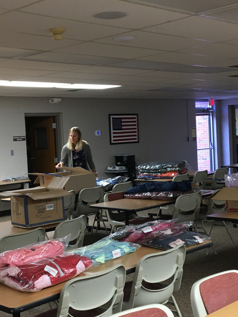 Big THANK YOU to the North Platte Professional Firefighters Local 831for including ESU 16 schools in Operation Warm! Our School Social Worker and School Counselors will be busy getting these coats out to kids!