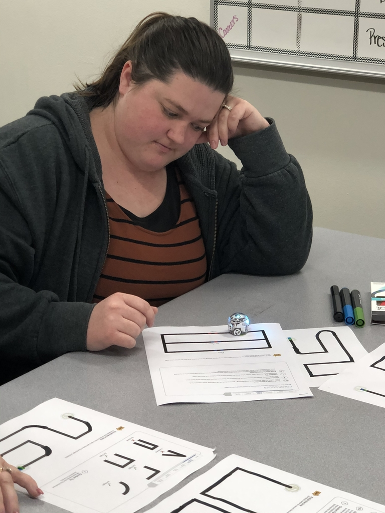Roxie Heessell and her Ozobot