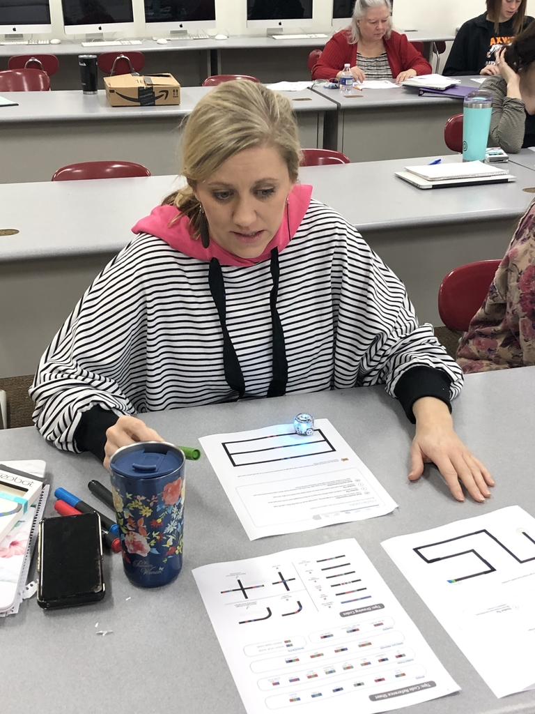Joni Keith and her Ozobot