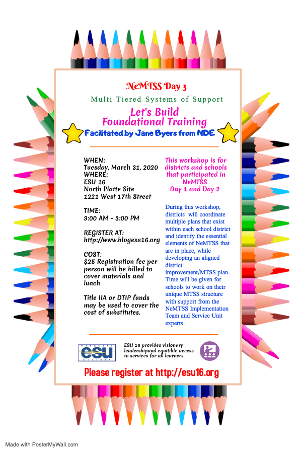 MTSS Day 3 flyer
