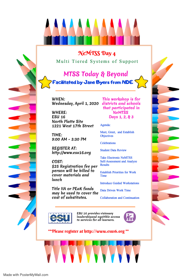 MTSS Day 4 flyer