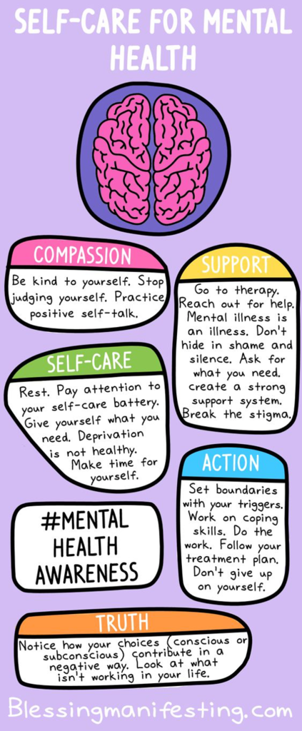 Mental Health Awareness and Self-Care TIps