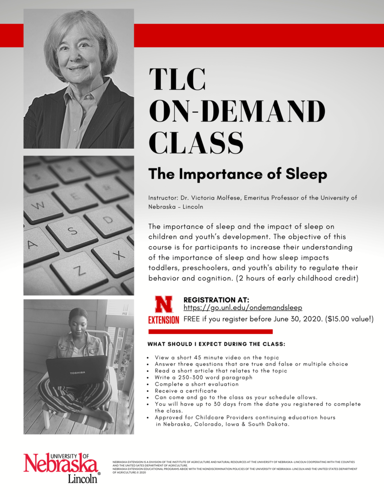 TLC On-demand Sleep Class